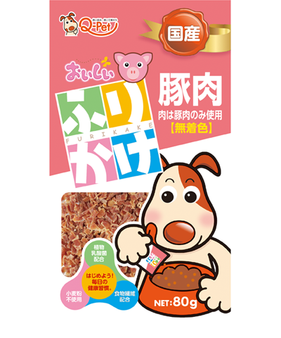 73_おいしいふりかけ豚肉小粒タイプ80g